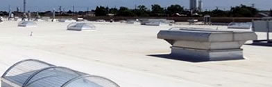 Commercial Roofing in Atlanta rooftop pic